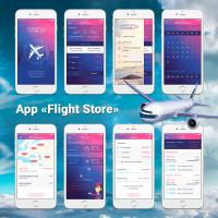 """App """"Flight Store"""""""