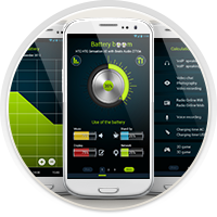 "Дизайн приложения ""Батарея"" для Android"