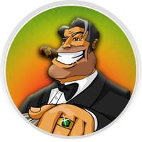 Дизайн многопользовательской онлайн игры Магнат ( приложение в контакте), созданной на основе популярнейшей игры Монопол