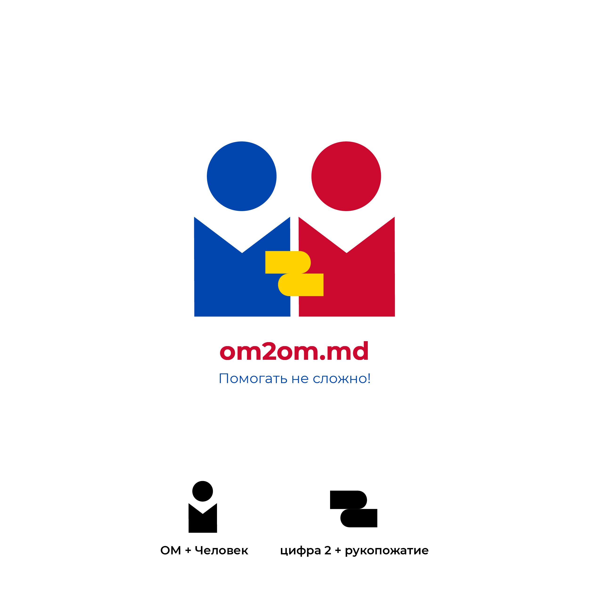 Разработка логотипа для краудфандинговой платформы om2om.md фото f_1845f5cef02de989.jpg