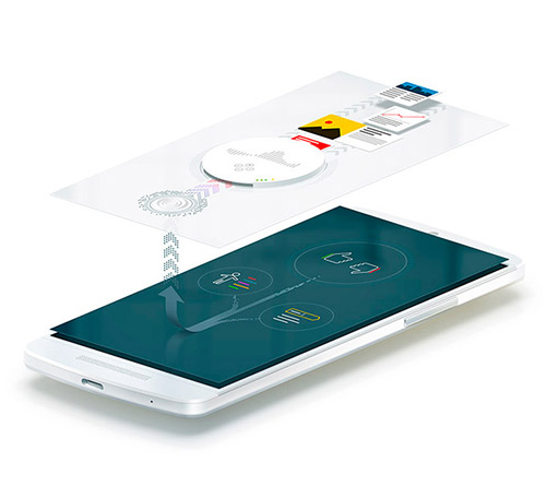 Мобильные технологии. Иллюстрация для промо-статьи