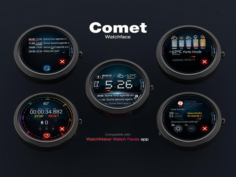 Циферблат «Комета»