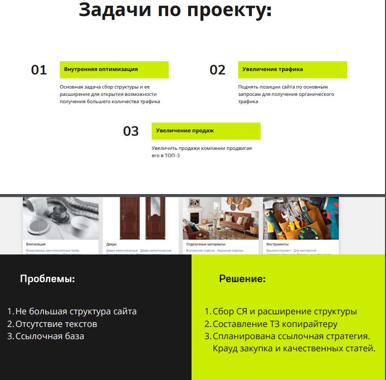 Продвижение сайта stroicentr.info