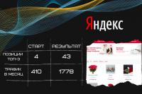 Продвижение сайта optroz.ru