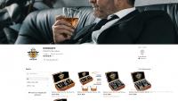 Магазин товаров для виски на Etsy