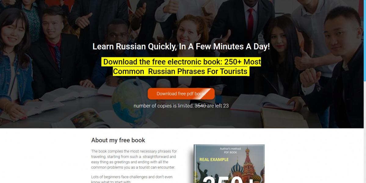 Изучение русского языка. Гугл США