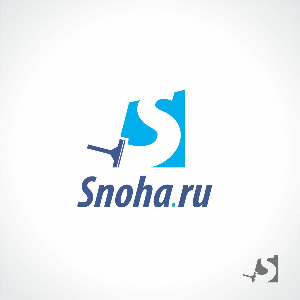 Логотип клининговой компании, сайт snoha.ru фото f_34954a22a1260332.jpg
