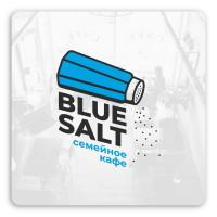 Логотип для кафе Blue Salt