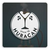 Логотип для кальян-бара Huracan