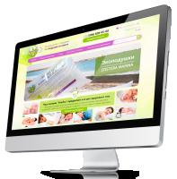 Интернет магазин Soneco под ключ Responsive. Производство и продажа экоподушек из камки