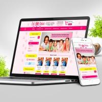 ИМ под ключ. Pink Pantera - Интернет магазин домашнего трикотажа и нижнего белья