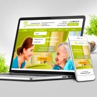 Сайт под ключ: Патронажная служба Опора | Уход за больными, сиделки для больных и пожилых