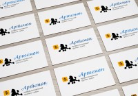 "Разработка логотипа для груминг салона ""Артемон"""