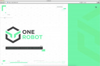 One Robot ⚛ Landing page