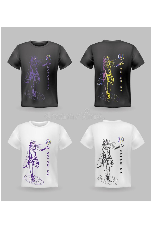Нарисовать принты на футболки для компании Моторика фото f_842609ec6ae31976.jpg