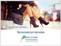 Презентация для компании Shoes cleaning professional