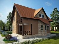 3D визуализация и разработка проекта дачного дома