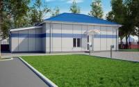 3D визуализация и разработка полного проекта КПП для МВД по 87 постановлению.