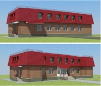 3D визуализация и разработка полного проекта по 87 постановлению, административно-хозяйственного комплекса.