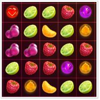 Berry Burst (рескин игры 3 в ряд)