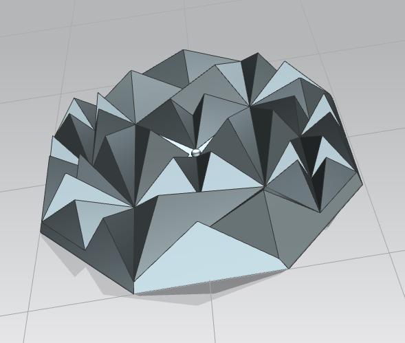 Сделать 3D модель массажного элемента формат STP/UG фото f_0035d29bfd287a6c.png