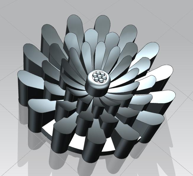 Сделать 3D модель массажного элемента формат STP/UG фото f_2325d2a022f86a5f.png