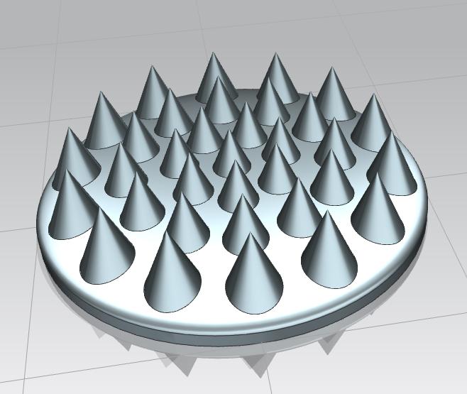 Сделать 3D модель массажного элемента формат STP/UG фото f_3095d29bfc38abfd.png