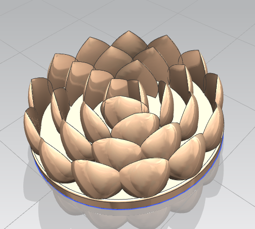 Сделать 3D модель массажного элемента формат STP/UG фото f_5055d28991351051.png
