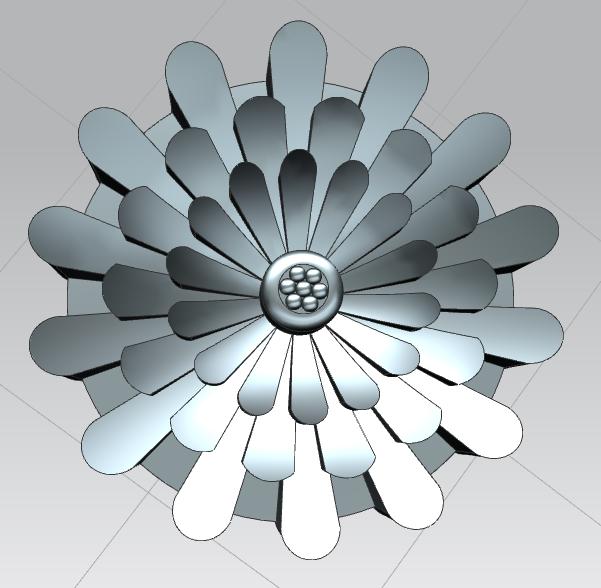 Сделать 3D модель массажного элемента формат STP/UG фото f_8255d2a0235aa03e.png