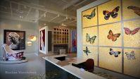 Мозаичная плитка выставочный стенд