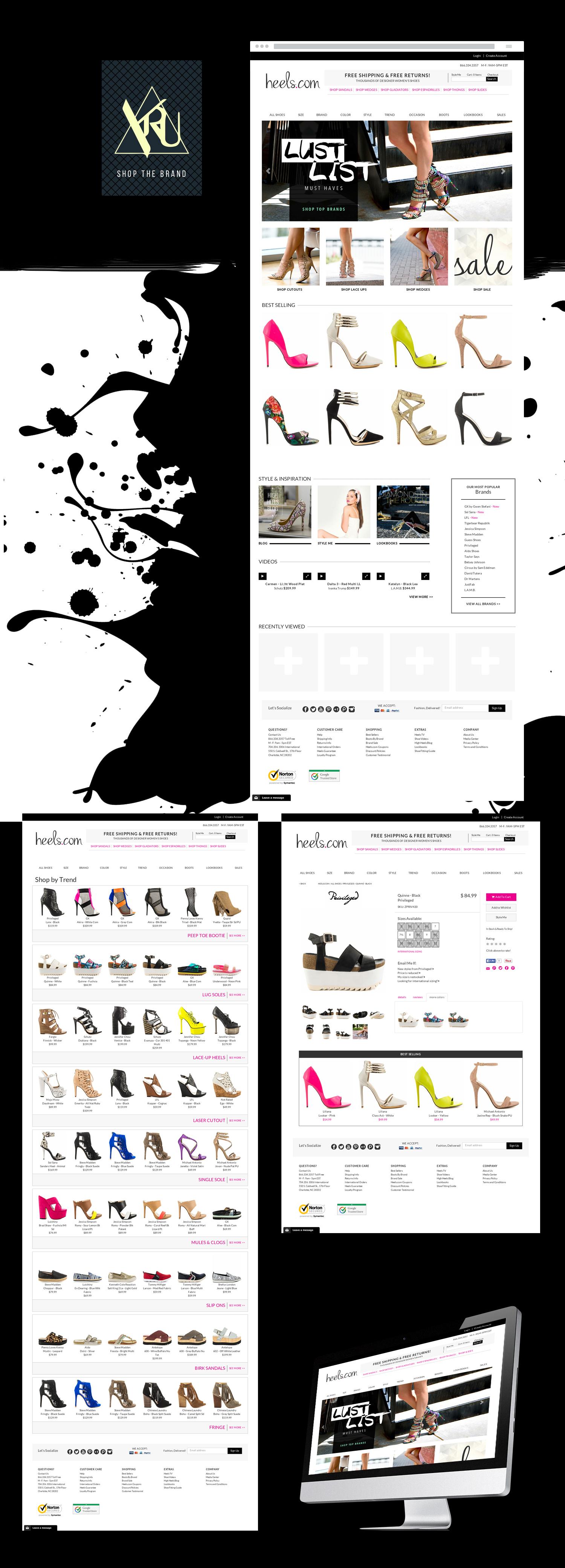 Интернет магазин: heels