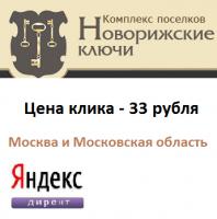 Контекстная реклама на Яндекс.Директ для коттеджного поселка г.Москва