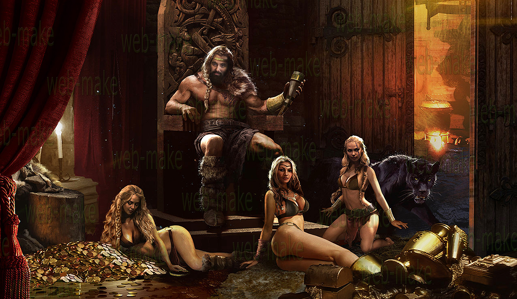 В образе викинга