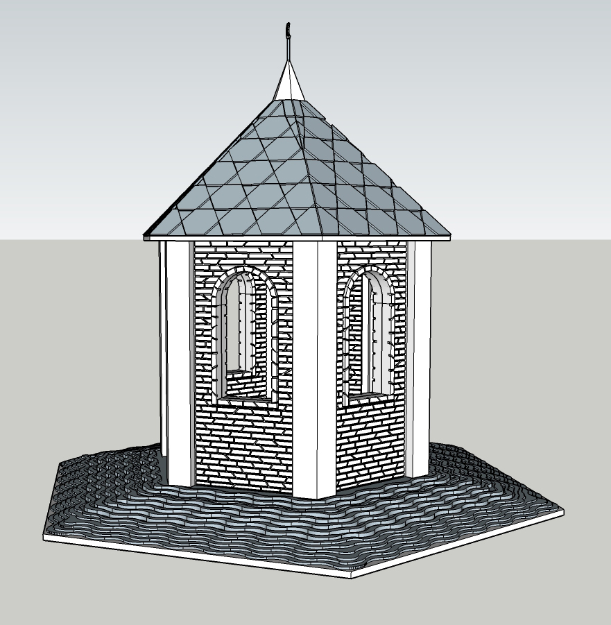 Модель для 3D печати сувенира