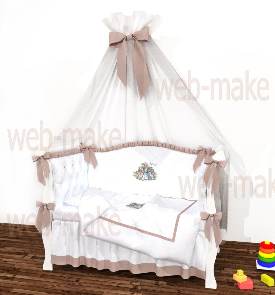 3Д модель и визуализация постельного белья