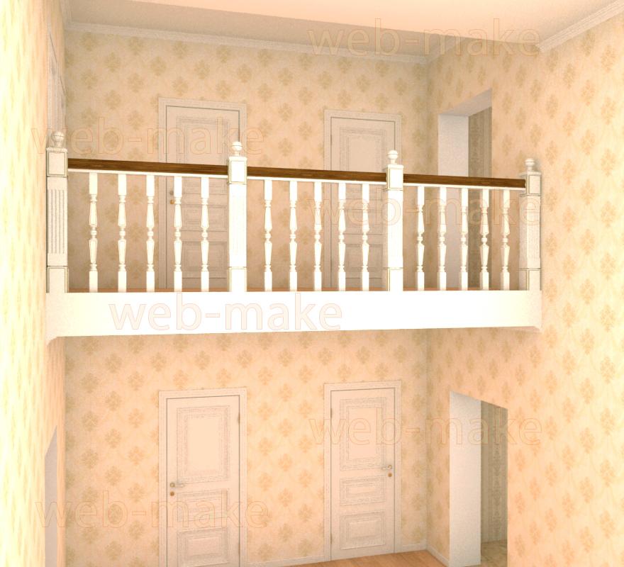 Моделирование, визуализация межкомнатных дверей
