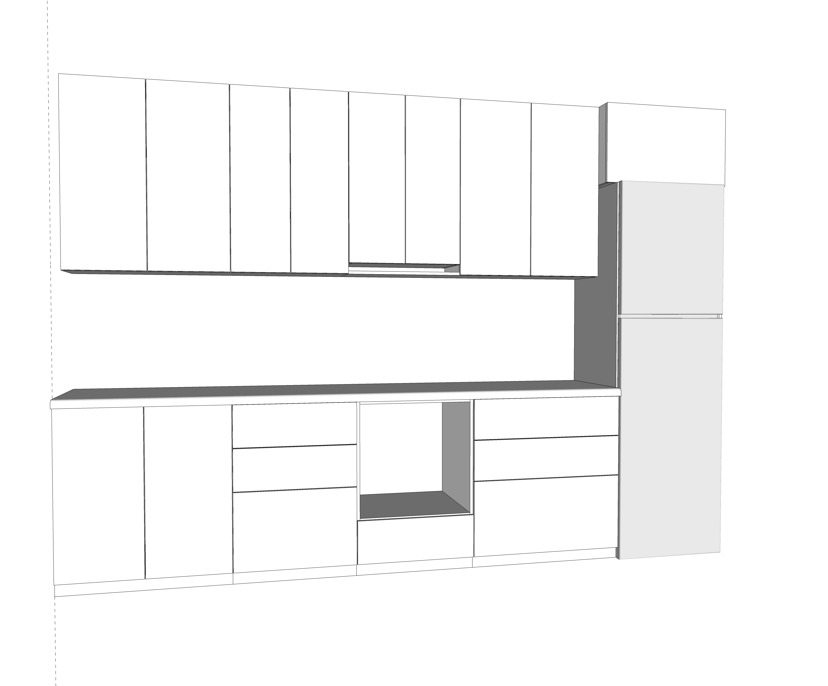 Проектирование кухонного гарнитура