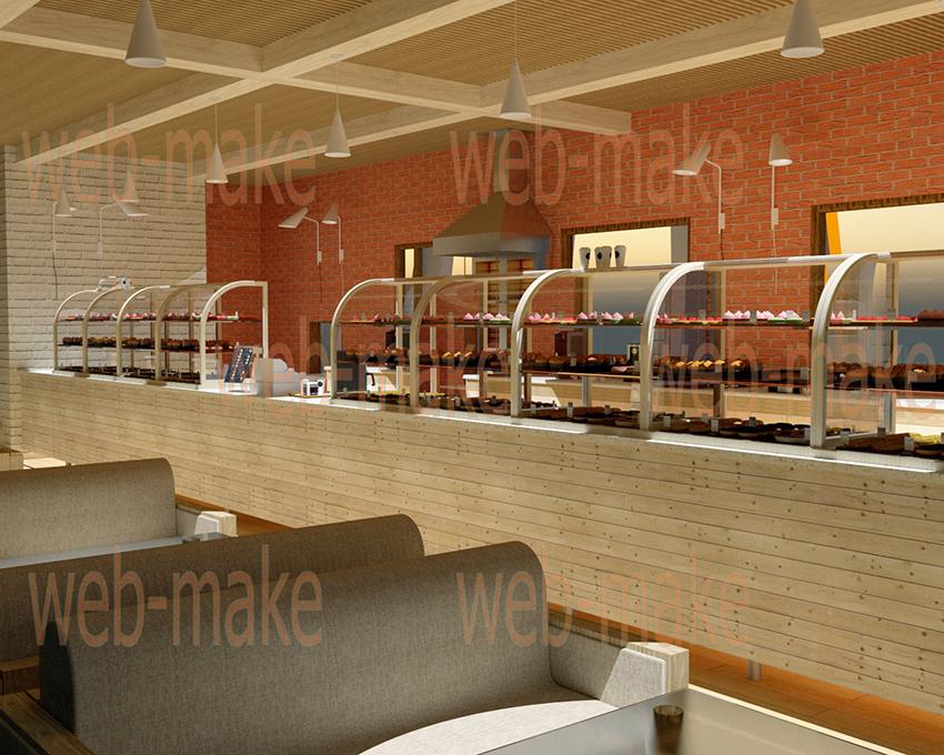 Моделирование и визуализация кафе
