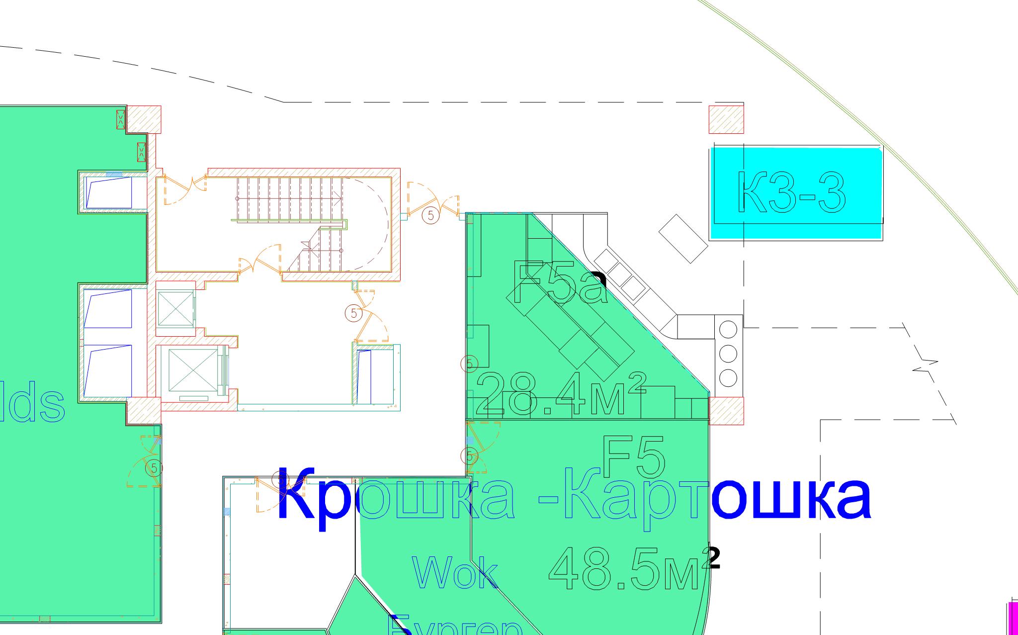 Расстановка оборудования, схема размещения кафетерия в ТЦ