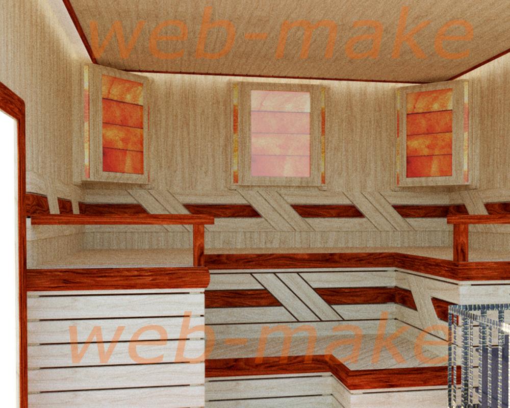 Проектирование бани, дизайн, раскладка доски.