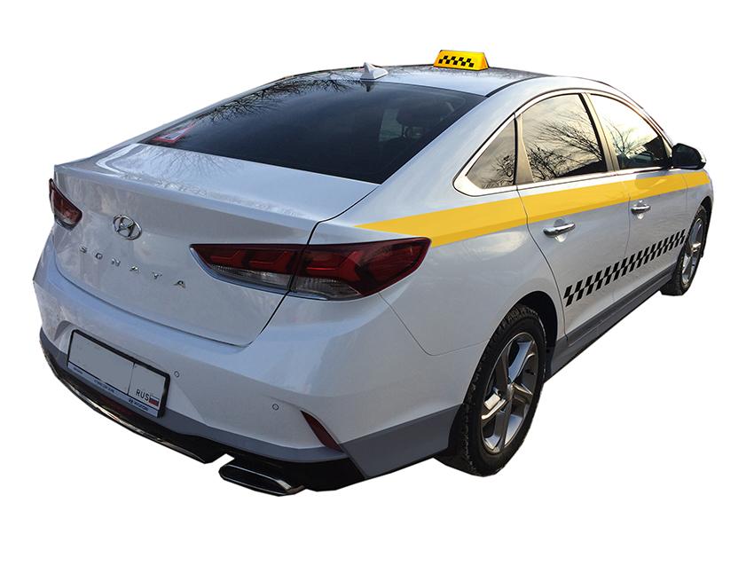 Стилизация авто под такси