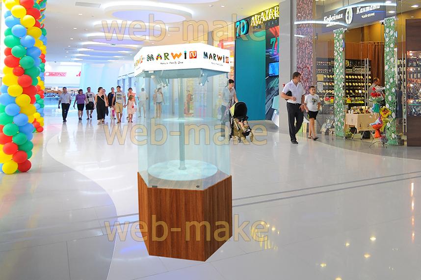Моделирование витрины с фотопривязкой в Торговом центре