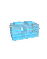 3D моделирование, визуализация с анимацией вращения