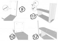 Инструкция по сборке детского шкафчика