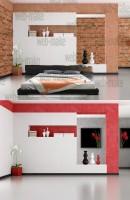 Фотомонтаж: Визуализация кровати в интерьере