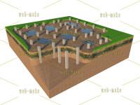 Иллюстрация свойств почвы для установки бетонных свай