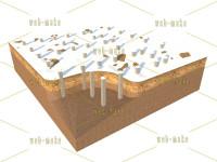 Иллюстрация климатических условий для установки свай