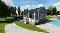 3D Визуализация, проекты загородных домов