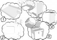 Инструкция сборки для серии детской мебели