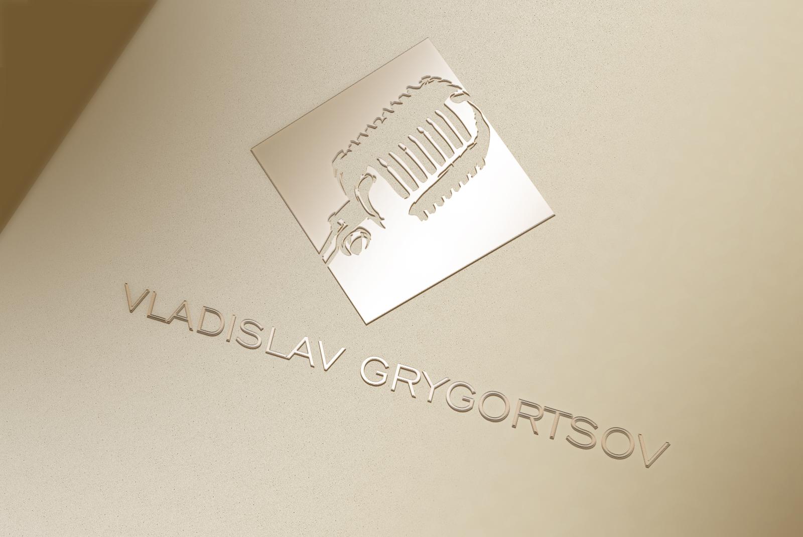 Разработка логотипа для ведущего мероприятий Владислава Григорцова